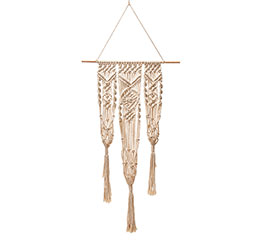 MACRAME POT HOLDER THAT HOLDS 3 POTS