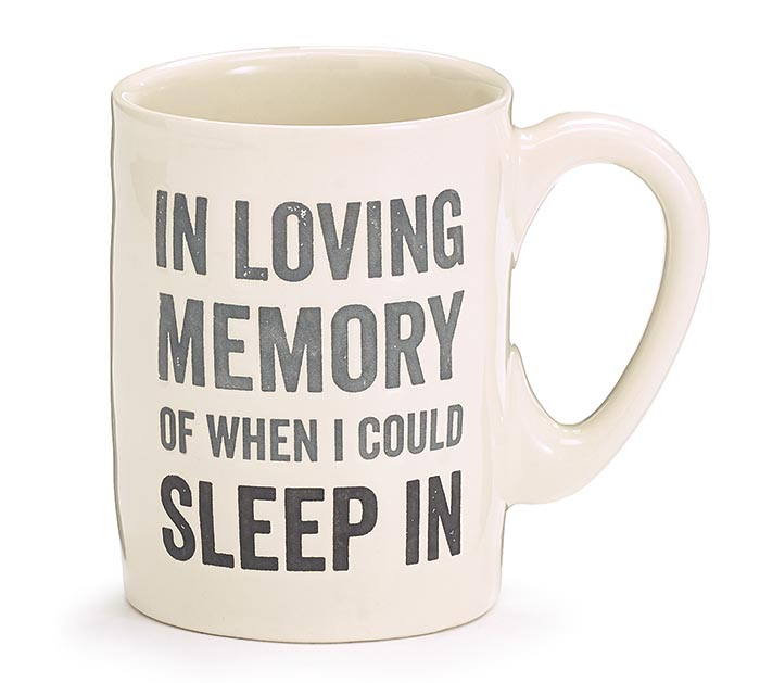 IN LOVING MEMORY WHEN I COULD SLEEP IN
