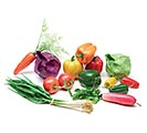 ASSORTED ARTIFICIAL VEGETABLES