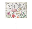 DISTRESSED MOM PICK WITH FLOWERS