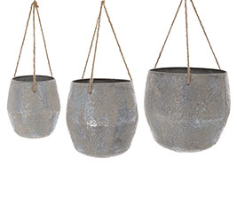 HANGING NESTED PLANTER SET