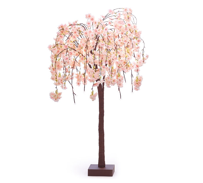 "47"" CHERRY BLOSSOM TREE WITH LIGHTS"