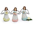 ANGEL RESIN IRON WINGS LOOKS LIKE WOOD