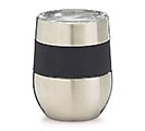 STAINLESS STEEL WINE TUMBLER WITH BAND