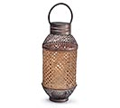 DECORATIVE LANTERN WITH LASER CUT METAL