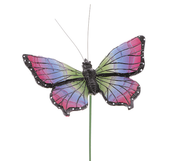 COLORFUL RESIN BUTTERFLY PICK