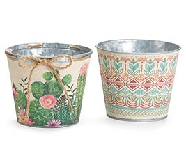 BOHO LINEN POT COVER ASSORTMENT