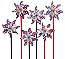 PATRIOTIC PINWHEEL PICK ASSORTMENT