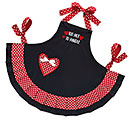 TOO HOT TO HANDLE BLACK FLIRTY APRON
