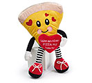 "12"" VALENTINE PIZZA PLUSH"