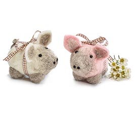 "4"" PINK AND WHITE PIG ASSORTMENT"