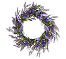 "24"" WREATH LAVENDER AND LILAC BLOOMS"