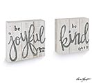 BE KIND  BE JOYFUL SHELF SITTERS