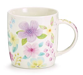 MUG 12 OZ DOGWOOD BLOOMS IN A GIFT CADDY