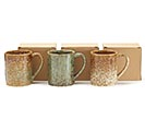 3 ASSORTED MARBLE COLOR MUGS 1st Alternate Image