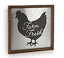 FARM FRESH ROOSTER WALL HANGING