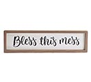 BLESS THIS MESS  HOME SWEET HOME SIGN 1st Alternate Image