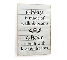 INSPIRATIONAL HOME WALL HANGING