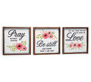 INSPIRATIONAL WALL HANGING ASSORTMENT