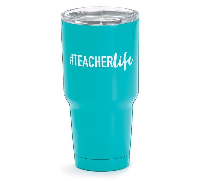 #TEACHERLIFE STAINLESS STEEL TUMBLER