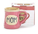 MOM MIRACLE WORKER JOB TITLE PINK MUG 2nd Alternate Image