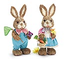 DECOR SPRING BUNNY COUPLE