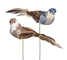 BLUE  GRAY ASSORTMENT OF FOAM PICK BIRD