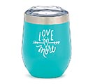 LOVE MORE STEMLESS WINE TUMBLER