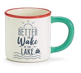 BETTER TO WAKE AT THE LAKE MUG