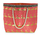FLAMINGO BAG PINK AND GOLD