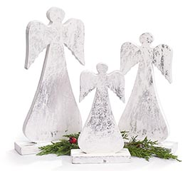 SILVER ANGEL DECOR ASSORTMENT