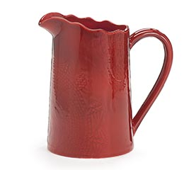 CRANBERRY RED PITCHER