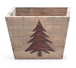"4"" CHRISTMAS TREE PLANTER"