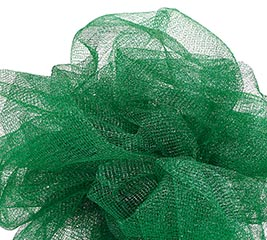 METALLIC GREEN GOSSAMER - 10 YARD ROLL