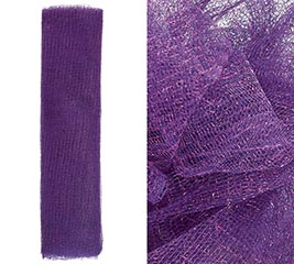 METALLIC PURPLE GOSSAMER - 10 YARD ROLL