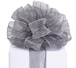 #40 SHIMMER CHARCOAL GRAY RIBBON