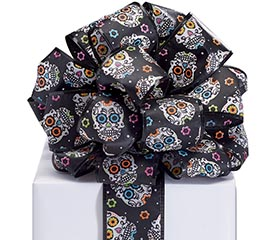 #40 DAY OF THE DEAD RIBBON