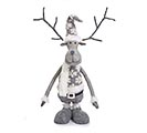 "46"" GRAY REINDEER WITH EXPANDABLE LEGS 1st Alternate Image"