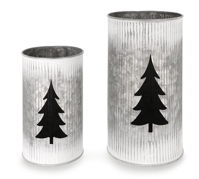 NESTED CHRISTMAS TREE CANDLEHOLDER