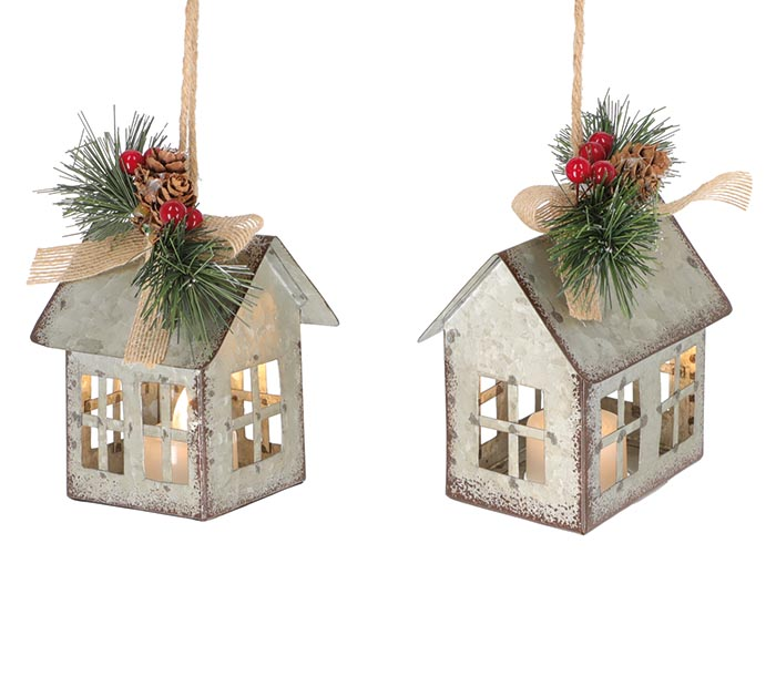 LIGHTED HOUSE ORNAMENT ASSORTMENT