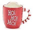 SANTA FRONT WITH POUCH FOR COOKIE MUG 2nd Alternate Image