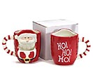 SANTA FRONT WITH POUCH FOR COOKIE MUG 3rd Alternate Image