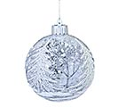 LIGHTED GLASS ORNAMENT WITH SNOW SCENE 1st Alternate Image