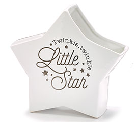 TWINKLE TWINKLE LITTLE STAR SHAPE VASE
