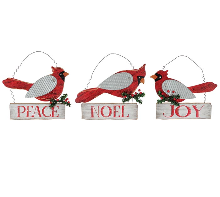 CARDINAL WALL HANGING ASSORTMENT