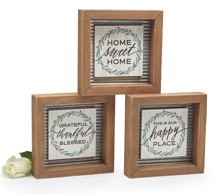 WREATH SHELF SITTER ASSORTMENT