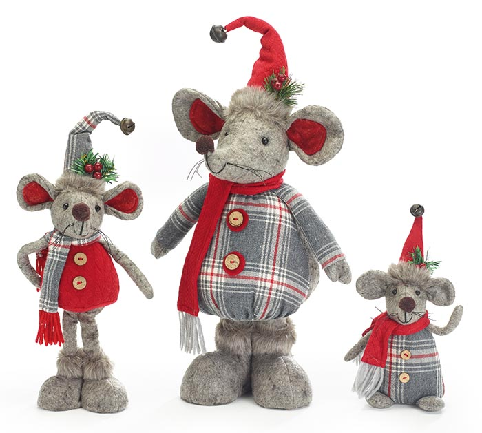 Christmas Mouse.Assorted Christmas Mice