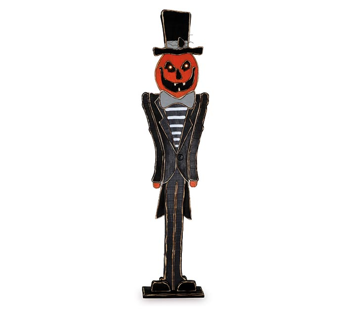 "53"" JACK-O-LANTERN MAN LIGHTED EYES"