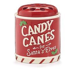CANDY CANE HOLDER FOR SANTA'S ELVES