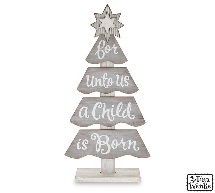 FOR UNTO US A CHILD IS BORN TREE
